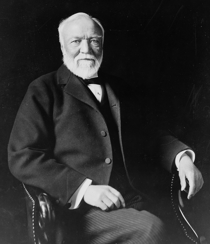 Photo Credit: https://en.wikipedia.org/wiki/Andrew_Carnegie