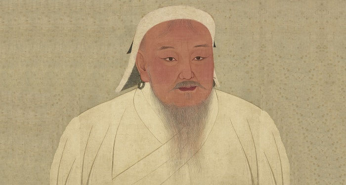 https://commons.wikimedia.org/wiki/File:YuanEmperorAlbumGenghisPortrait.jpg